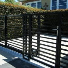 Automatic sliding gates
